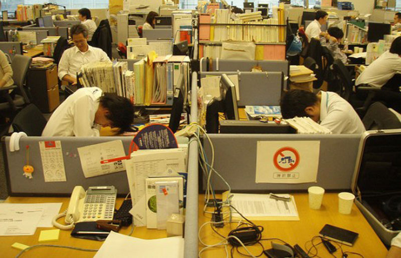 the japanese practice of hard work in the workplace The 5ss of workplace organization stan gidley are defined by 5 japanese words that start with 's' making them hard to see and reach.